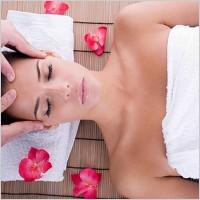 massage ansikte